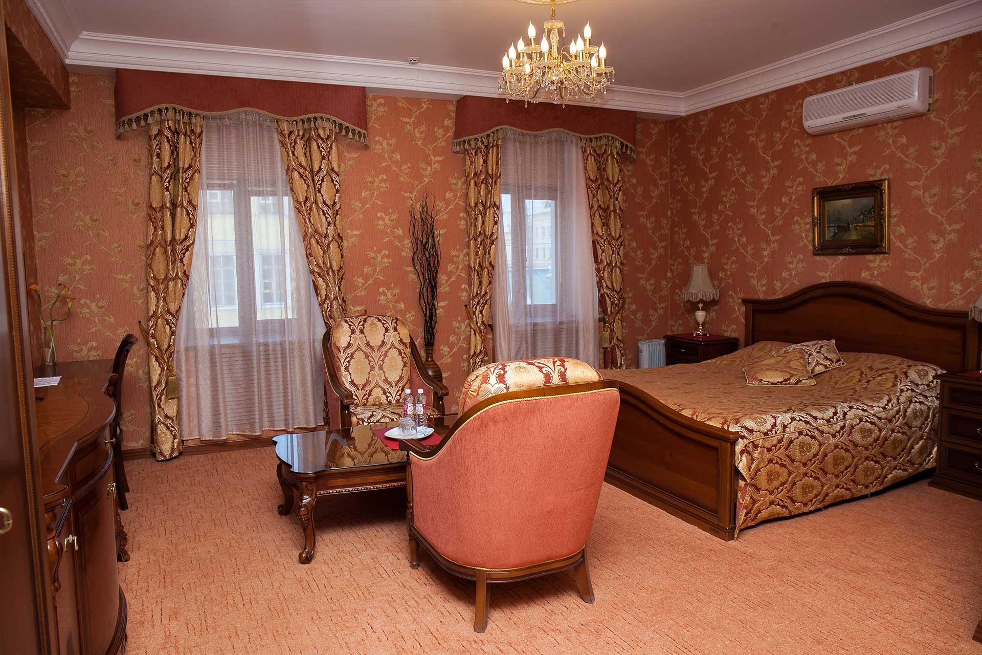 отель номер люкс